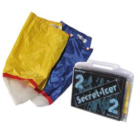 SECRET SMOKE - SECRET ICER 2 SACCHI SACCHE ( GIALLO E BLU ) FILTRO PER ICE WASHER LAVATRICE RESINATOR