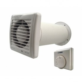 Vents 100 assiali decorativa aria di scarico ventilatori aria portata 88 m³//h BIANCA