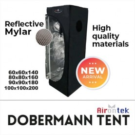 DOBERMANN TENT 80X80X160 CM...