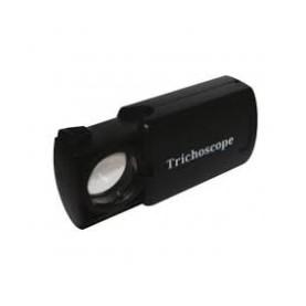 MICROSCOPIO TRICHOSCOPE 30X ZOOM CON LUCE LED